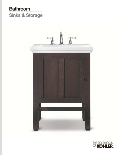 [Bathroom Sinks & Storage Line Book]