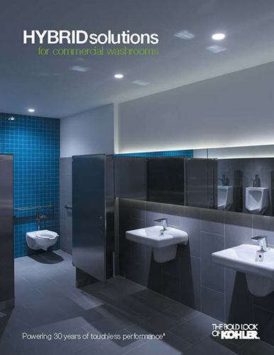 [Hybrid Solutions for commercial washrooms]