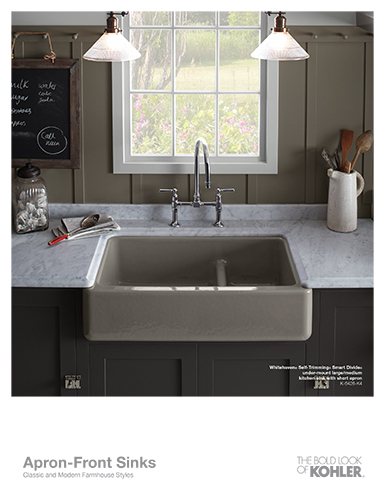 [Apron-Front Sinks Sell Sheet]