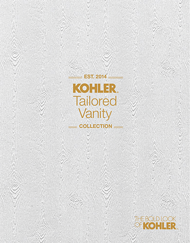 [KOHLER TAILORED VANITY COLLECTION]
