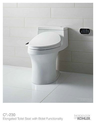 [C3-230 Bidet Sell Sheet]