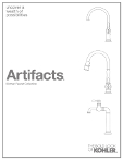 [ARTIFACTS KITCHEN FAUCET BROCHURE]